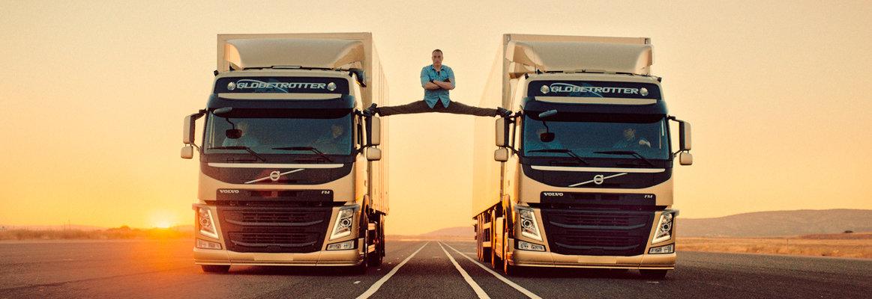 The Van Damme Split © AB Volvo