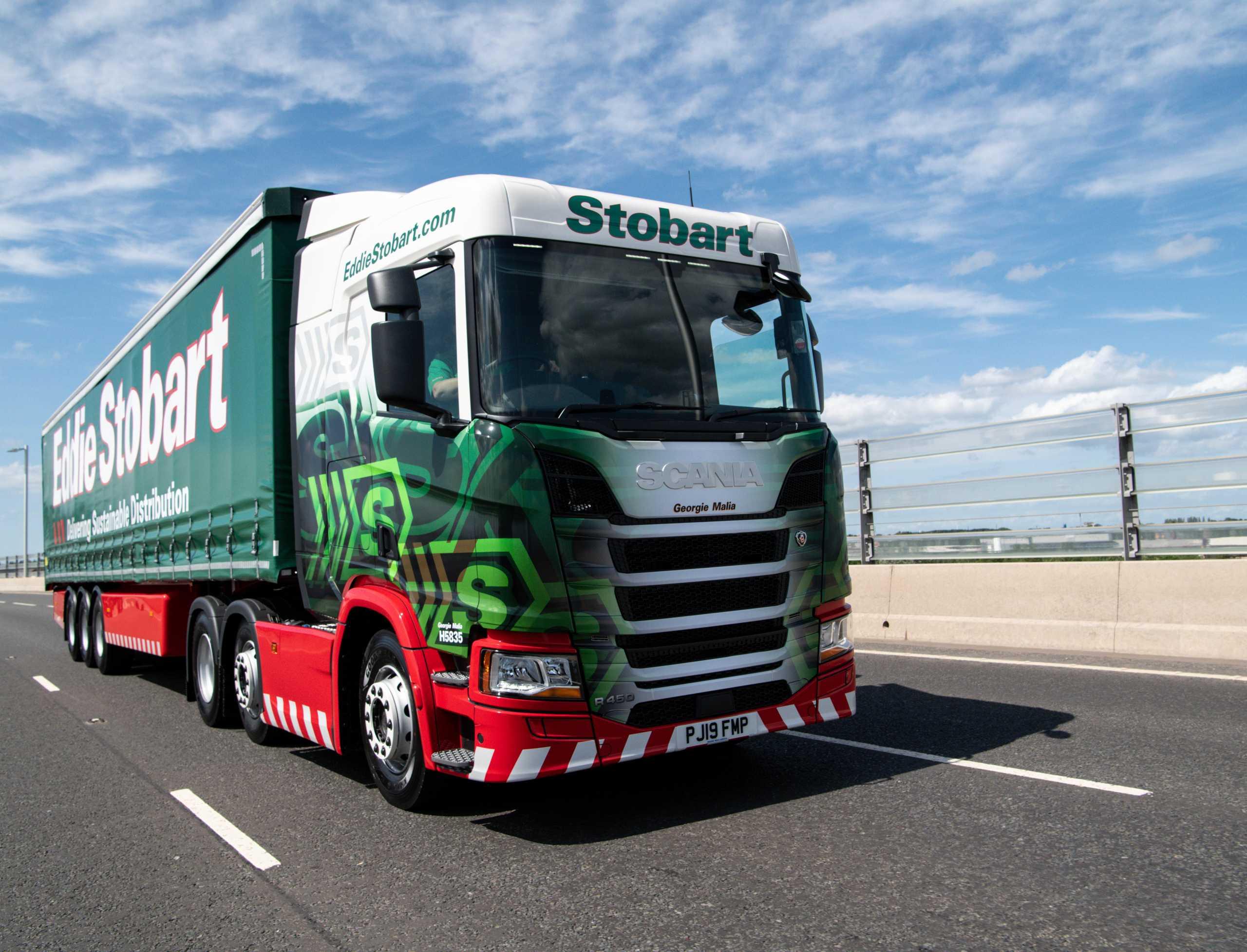 Eddie Stobart Lorry © Eddie Stobart
