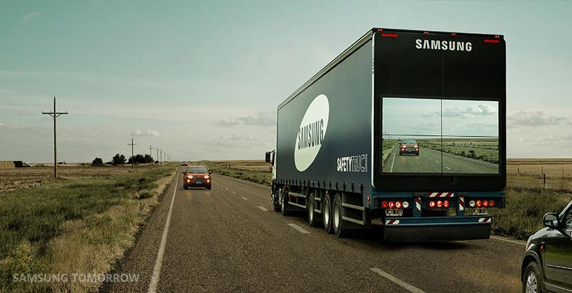 The Samsung Safety Truck © SAMSUNG